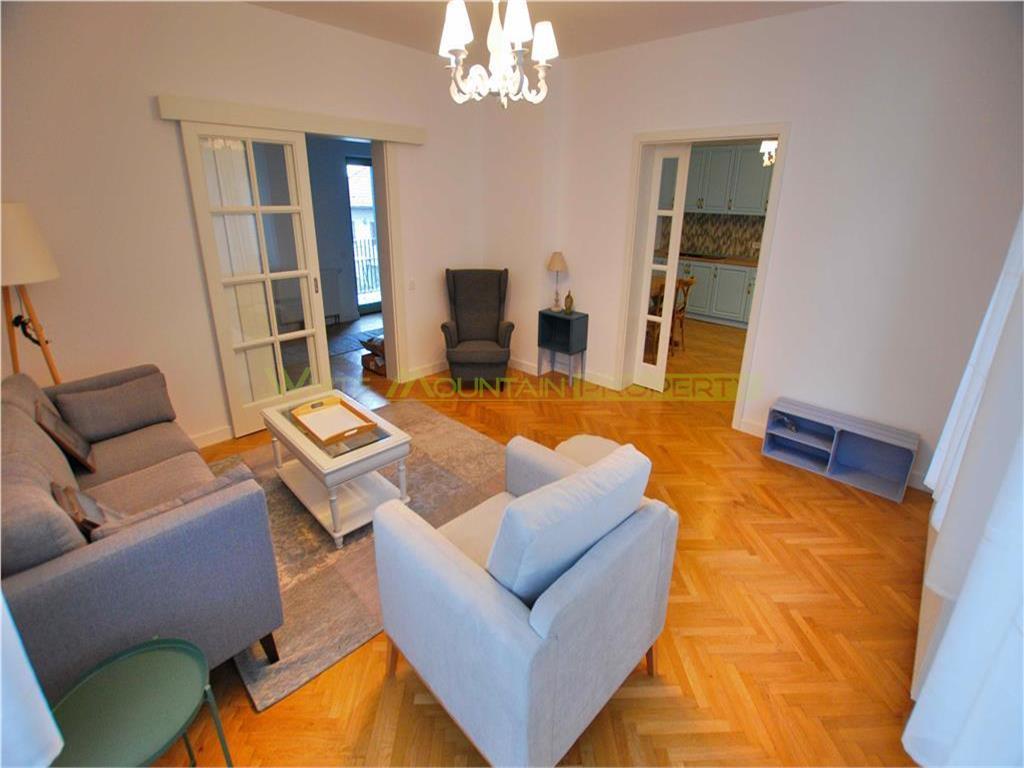 Apartament de lux, renovat, pentru rezidenta sau investitie in Centrul Istoric Brasov