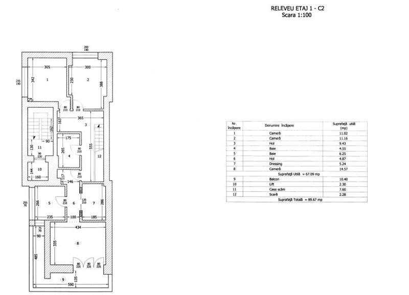 De vanzare apartament 4 camere Dorobanti 195 mp