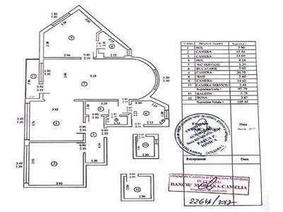Apartament 4 camere ideal pentru birou de inchiriat in Victoriei