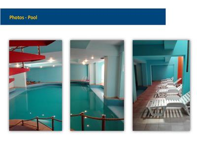 Swimming Pool Hotel Charles de Gaulle