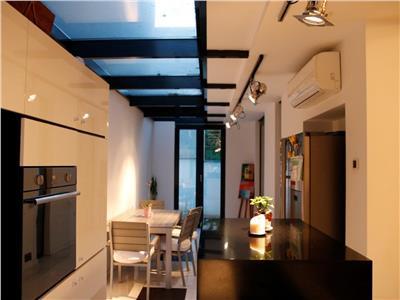 Apartament superb 3 camere cu gradina in Floreasca Verdi