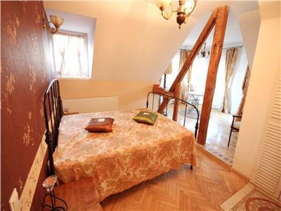 Apartament deosebit cu 5 camere de inchiriat ultracentral Brasov