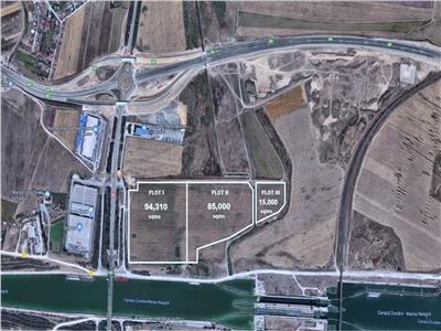 Vanzare teren 19,43 ha, Agigea - Constanta- dezvoltare logistica sau industriala -