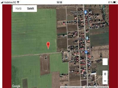 Land for sale in Ciorogarla 4 pieces, each one of 579 sqm