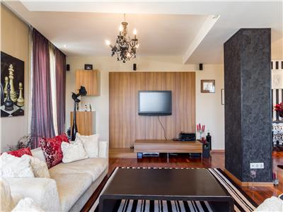 For rent, 4 room penthouse, Baneasa