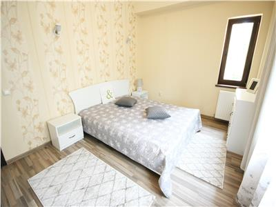 Central apartment for rent with access to the garden