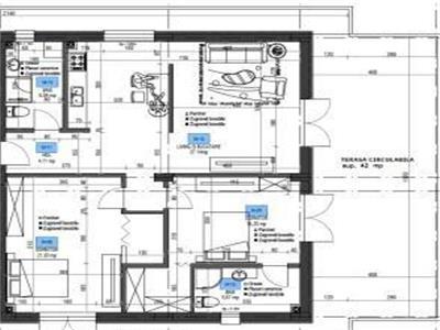 Vanzare penthouse 3 camere, Vila Hamburg, zona Coresi