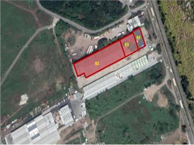 For rent, industrial space - warehouse, logistics, offices, Clinceni