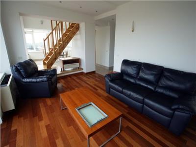 Apartament cu 3 camere de inchiriat langa parcul Herastrau , duplex penthouse