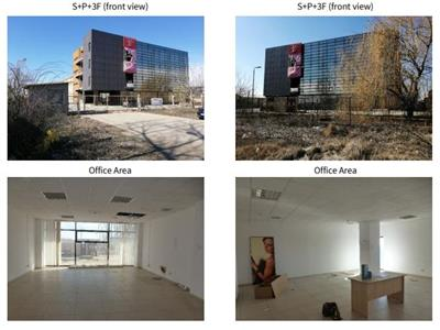 For sale, industrial space - warehouse, logistics, offices, Clinceni