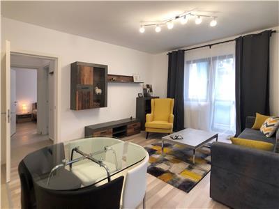 Apartament de inchiriat 2 camere nou mobilat Carol Parc