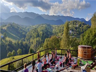 Yoga Business and Hotel for sale - wellness retreat, Moieciu, Brasov
