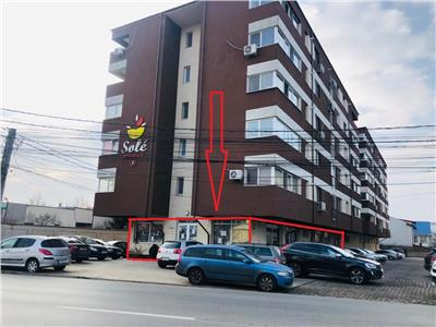 Commercial Space 240 sqm +8 parking space for rent in Popesti Leordeni - Oltenitei