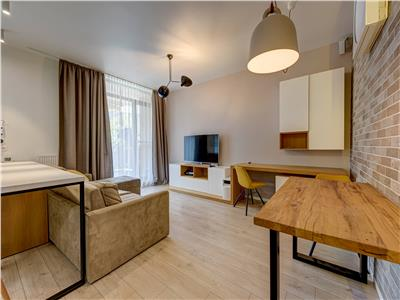 2 bedroom apartment with private urban garden, long term rental, City Point - Aviatiei