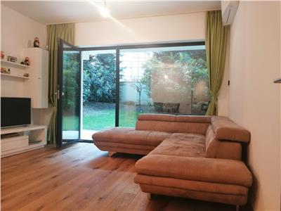 VIDEO Apartament 3 camere, cu gradina privata, Baneasa - Herastrau
