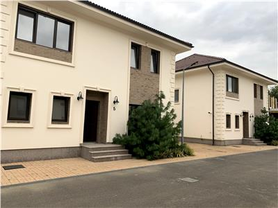 Vila luxoasa in Otopeni, 5 camere, locata in curte cu poarta privata