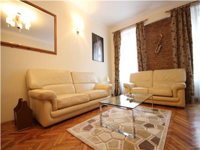 Apartament cu 3 camere str. Muresenilor - pretabil regim hotelier / home office