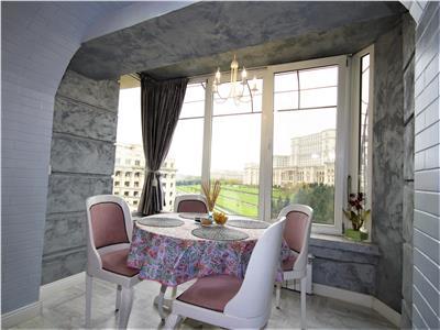 Superb Apartament cu 4 camere de vanzare in Bdul Libertatii ,Parcul Izvor, Palatul Parlamentului cu vedere panoramica