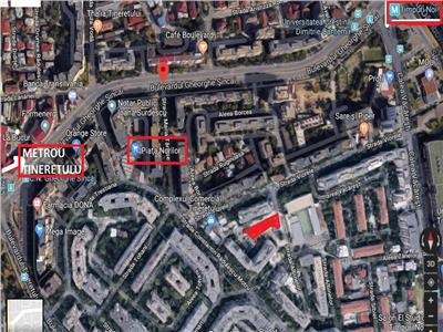 436 sqm land, Tineretului - Sincai, business, investment opportunity
