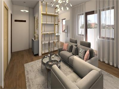 3 room apartment, for sale, Tribunei Boutique, Straulesti - Bucurestii Noi