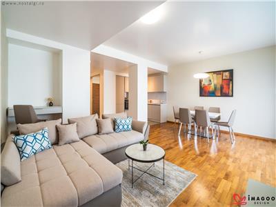 Apartament de lux si amenajare de designer de inchiriat in Bellevue Residence