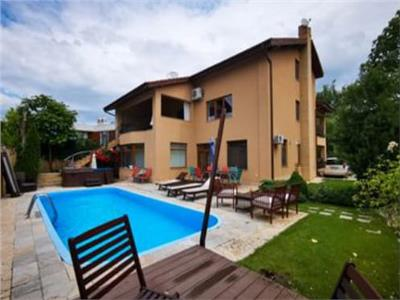 7 room villa with a swimming pool, long term rental, Pipera