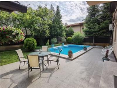 6 room villa, with an outdoor swimming pool, long term rental, Pipera