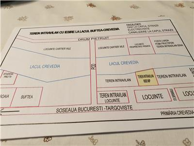 Land, 6800 sqm, for sale, Crevedia, negotiable